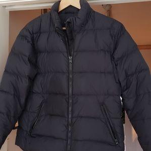 Lands End Womens Black Down Puffer Jacket
